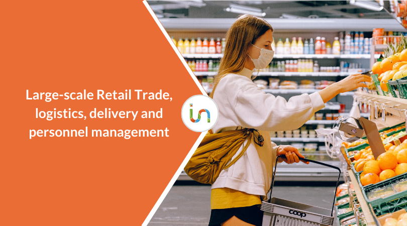 Large-scale Retail Trade, logistics and delivery: react to Covid-19 with recruitment actions