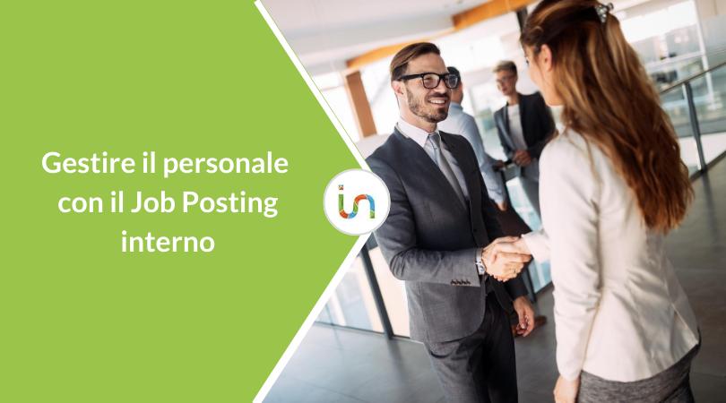 Job Posting interno per gestire il personale in azienda