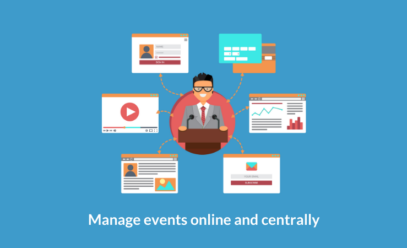 How to manage events online and centrally with In-recruiting